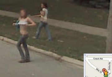 Skurrile szenen aus google street view meme rage comics - Lustige bilder google ...